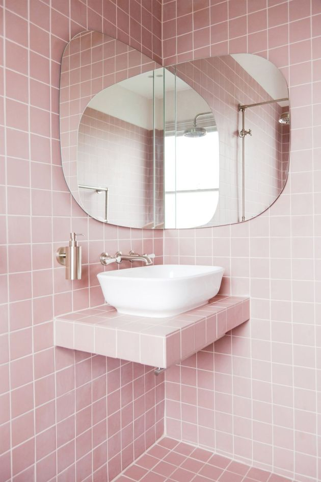 Bathroom Design Ideas By Sticking to One Color