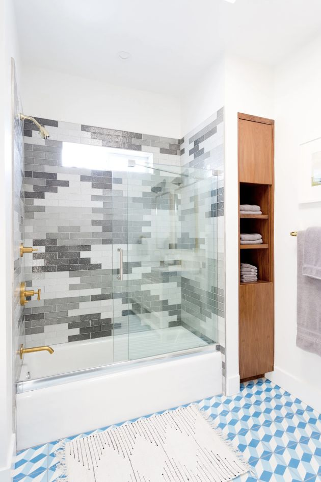 Blue And Gray Bathroom Paint Color Ideas