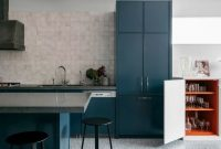 Marine Blue Kitchen Paint Color Ideas