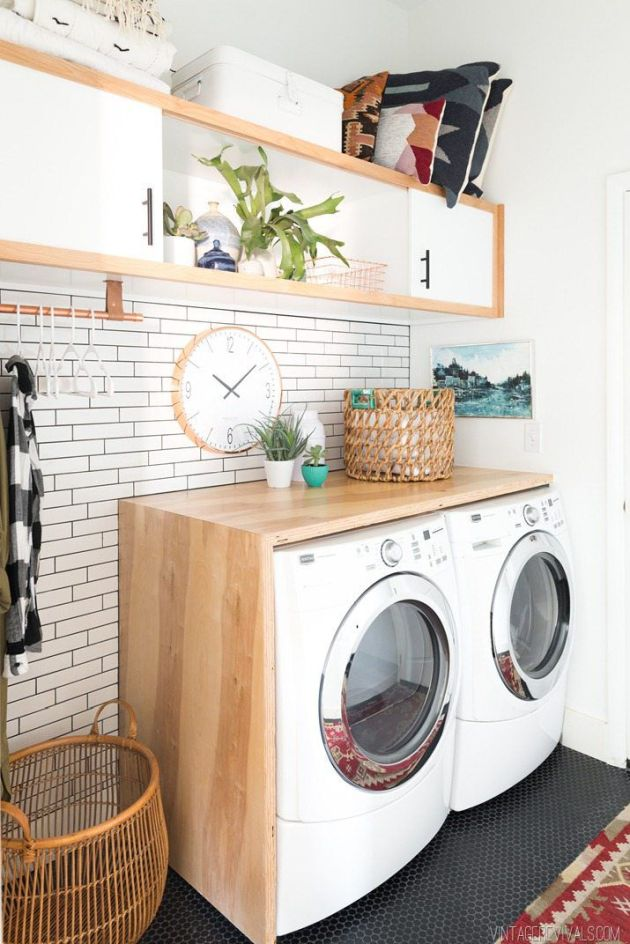 Laundry Room Design Ideas By Installing More Counter Space