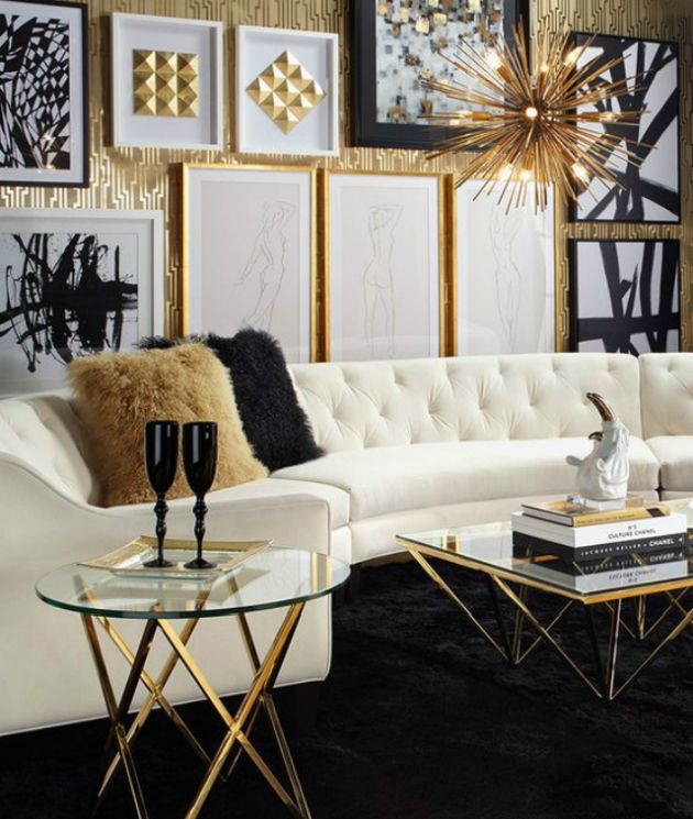 Modern Black Living Room Design Ideas By Boca Do Lobo