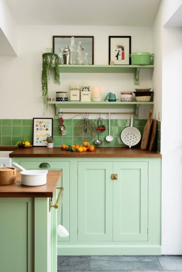 Spring Green Kitchen Paint Color Ideas – Plushemisphere