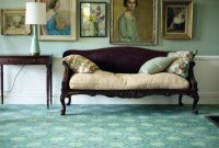 Traditional Turquoise Living Room Ideas By AGA & Fired Earth Danmark