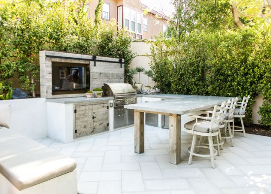 Beach Style Patio Design Ideas By Christiano Homes