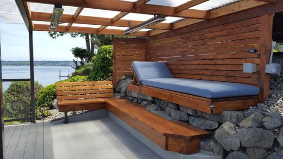 Beach Style Patio Design Ideas By Decks & Patio Covers