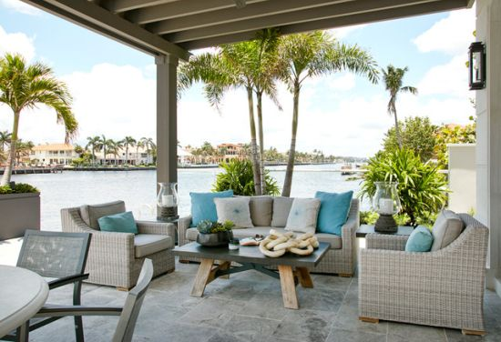 Beach Style Patio Design Ideas By Insignia Design Group Llc