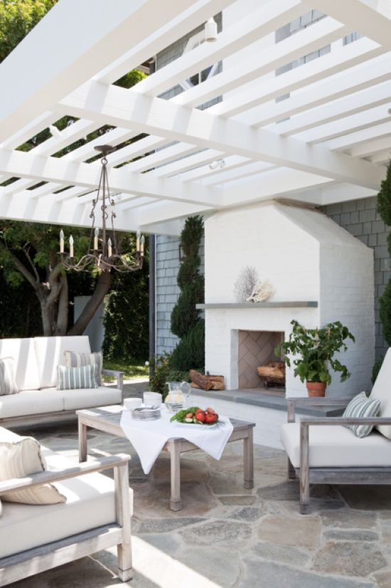 Beach Style Patio Design Ideas By Laura Hull Photography