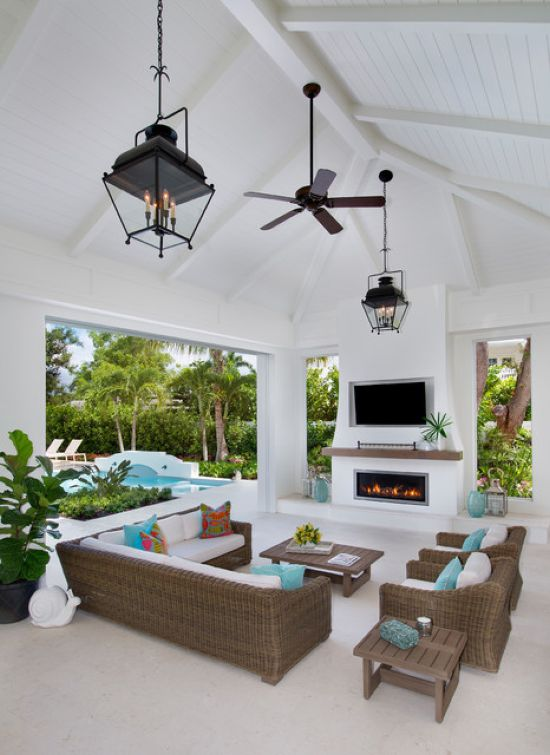 Beach Style Patio Design Ideas By Naples Bay Builders, Inc