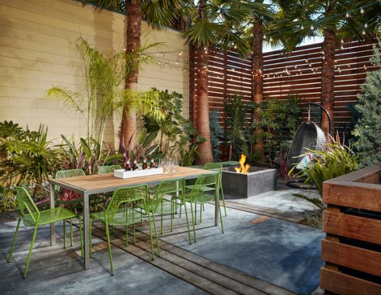 Eclectic Patio Design Ideas By Greene & Grey Design