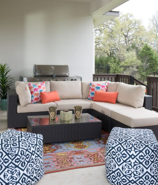 Eclectic Patio Design Ideas By Ice Interior Design LLC
