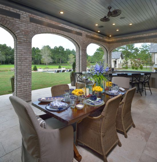Eclectic Patio Design Ideas By Wyrick Residential Design