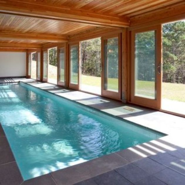 Indoor Swimming Pool With Doors