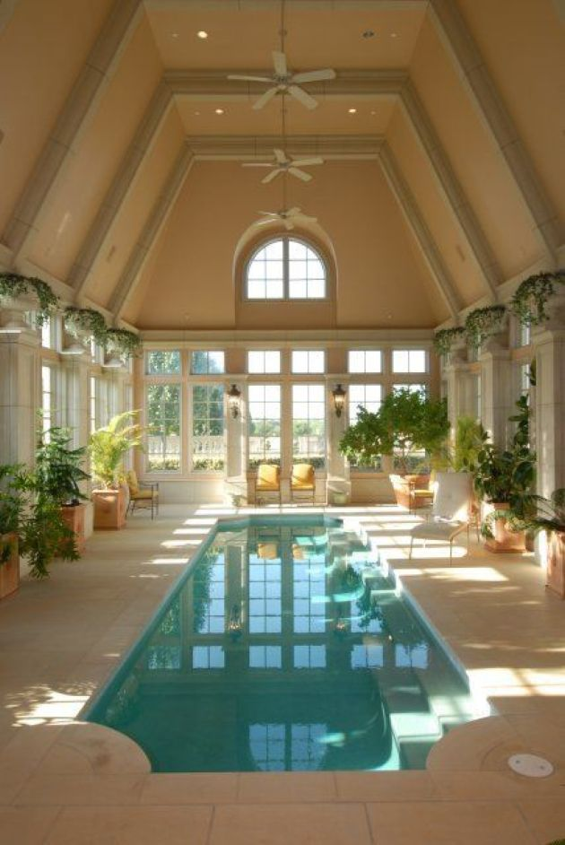 Long And Narrow Indoor Pool