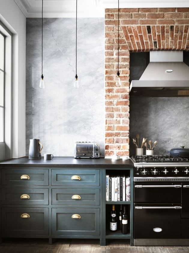 Mark Lewis Rustic Kitchen Cabinets