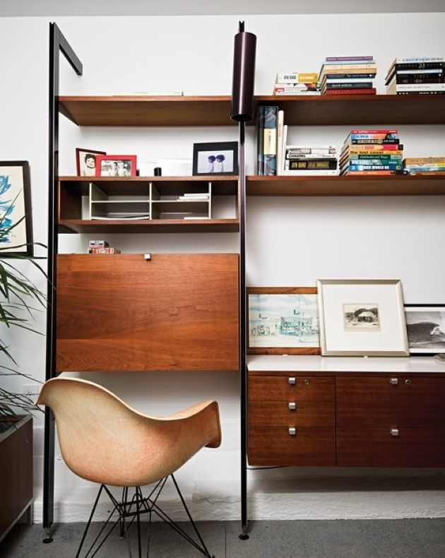 Mid-Century Storage Unit Ideas