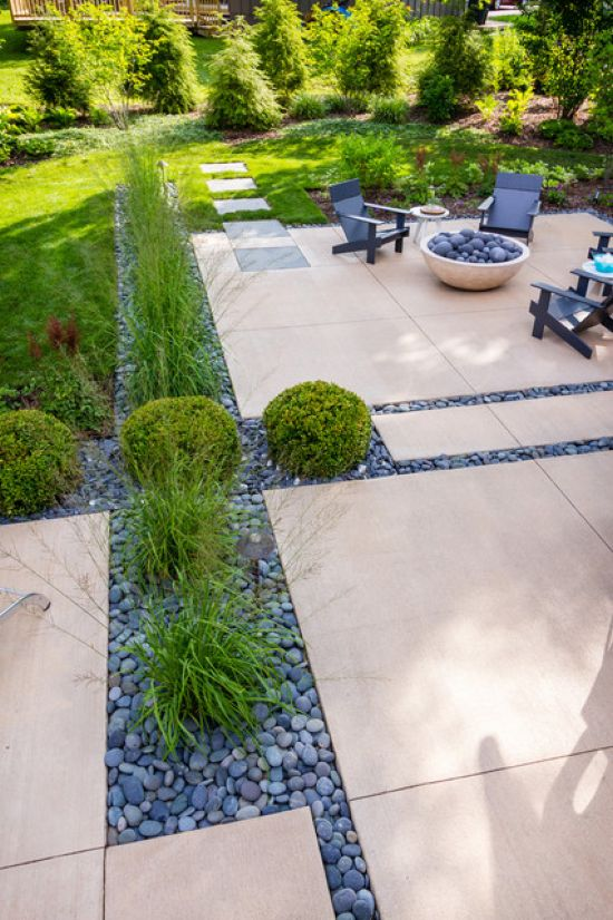 Modern Patio Design Ideas By Ginkgo Leaf Studio