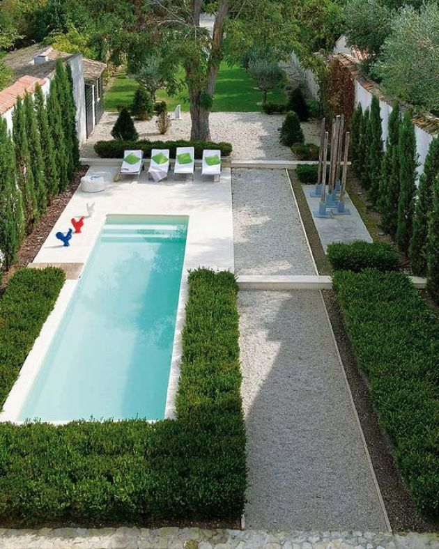 Narrow Pool Ideas