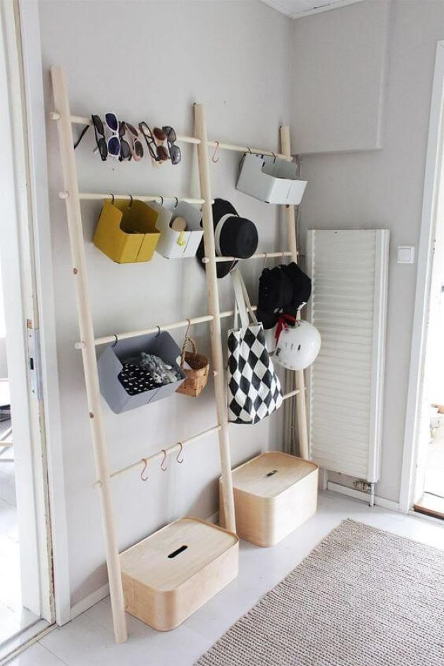 Open Storage Unit For Accessories And Shoes