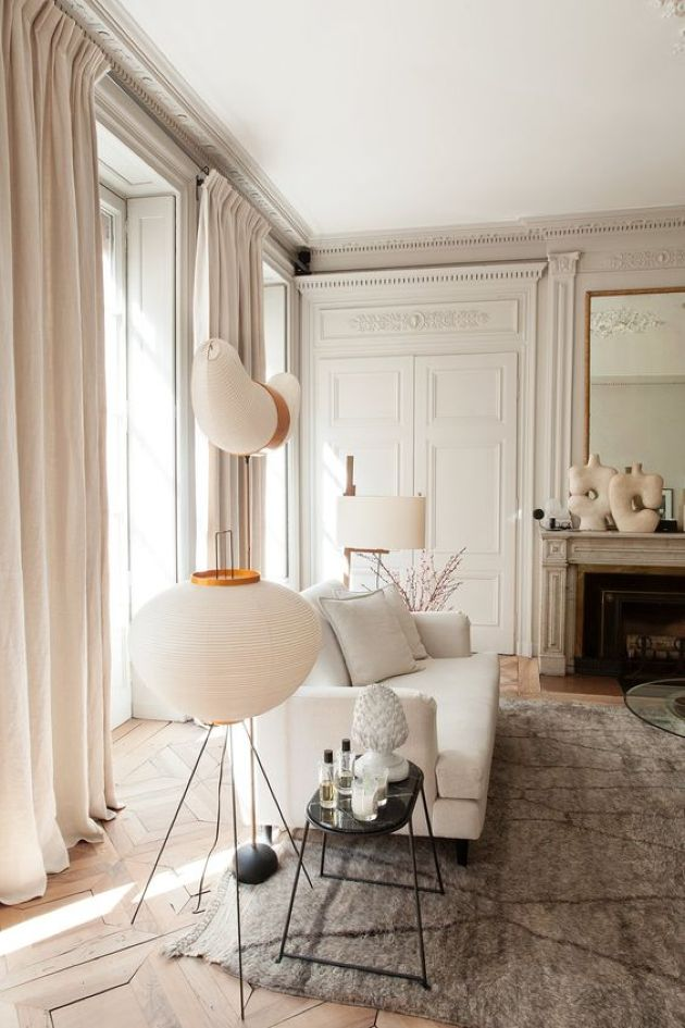 25 Parisian Chic Living Room Decoration Ideas Plushemisphere
