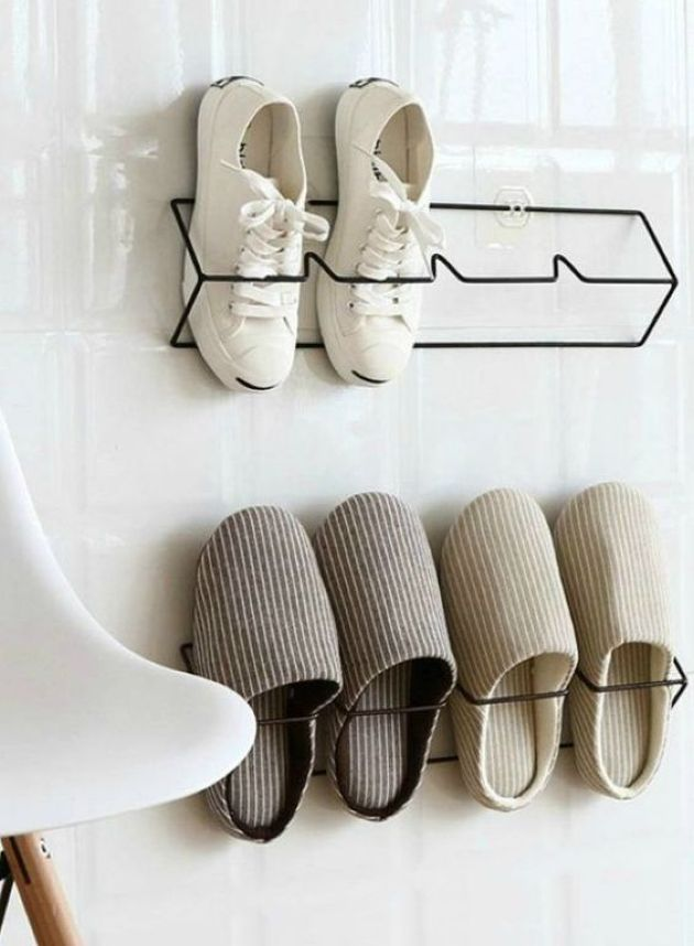 Simple And Comfortable Wire Shoe Organizers