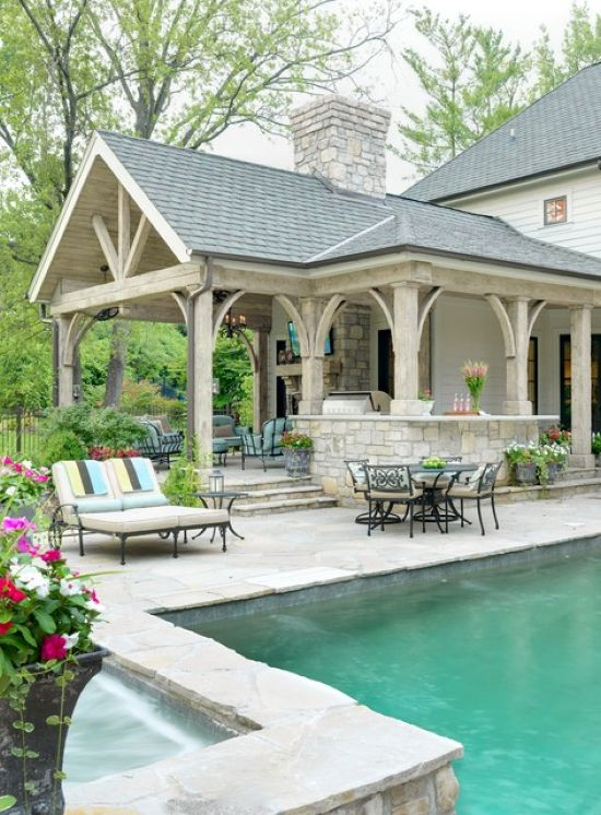 Traditional Patio Design Ideas By Mitchell Wall Architecture and Design
