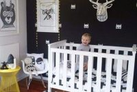 Black And White Nursery Ideas With Cool Artworks And Toys