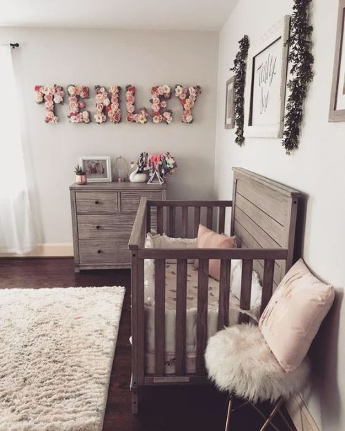 50be1303dff0c Chic Farmhouse Meets Vintage And Boho Nursery With Reclaimed Wooden ...