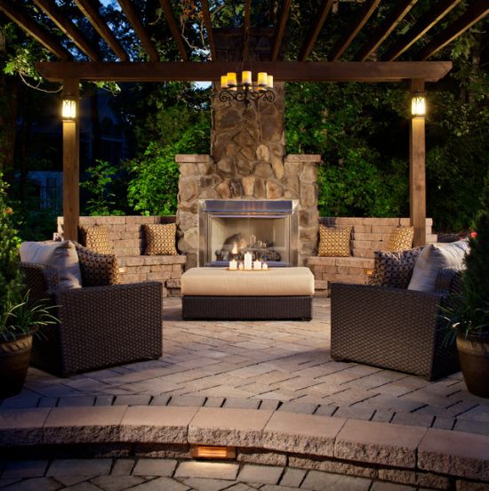 Craftsman Patio Design Ideas By AspenFalls Custom Design and Landscape