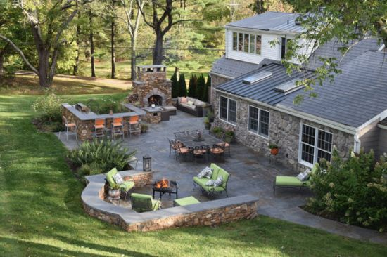 Craftsman Patio Design Ideas By Ettore Masonry Inc.