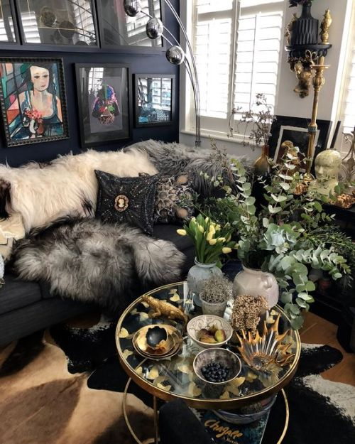 Home Decor Trend Ideas For Fall 2019 With Faux Fur Throws And Embellished And Embroidered Pillows