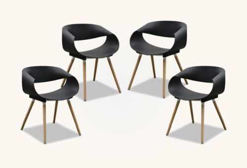 Modern Black Kitchen Chairs