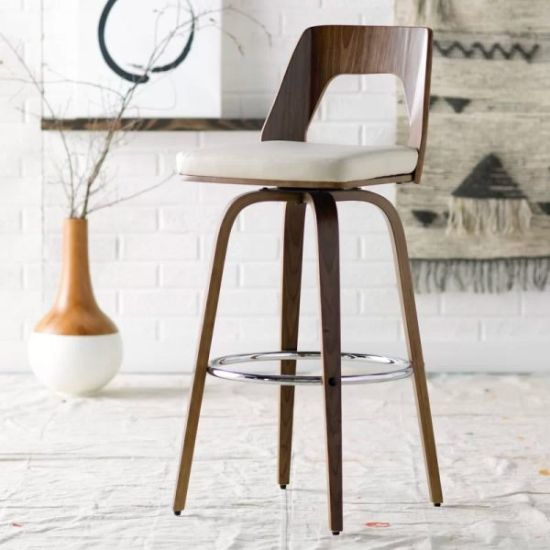 30″ Low Back Swivel Bar Stool