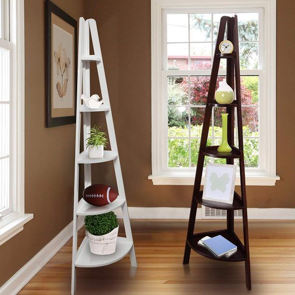 5 Tier Corner Ladder Shelf