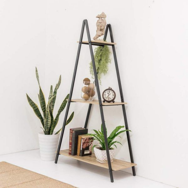 A Frame Ladder Shelf