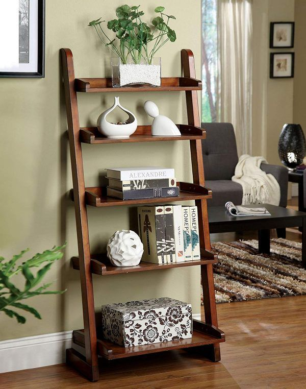 Antique Style Ladder Shelf