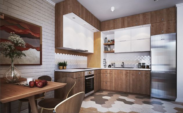 L-Shaped Kitchen Design Ideas By Polygon