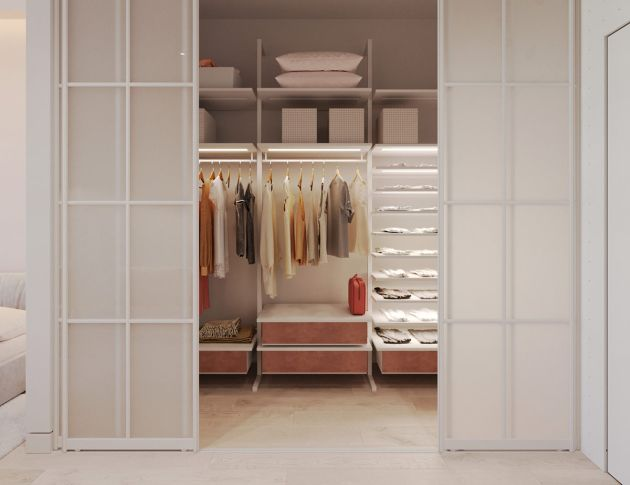 Walk In Wardrobe Ideas By ArtPartner Architects