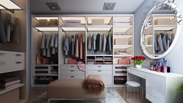 Walk In Wardrobe Ideas By Sally Hussein