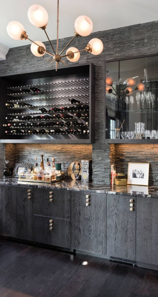 Contemporary Home Bar Ideas By Dwelling Designs