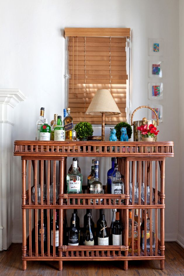 Eclectic Home Bar Ideas By Leslie L. Hunt Interior Design