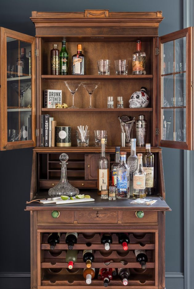 Eclectic Home Bar Ideas By Nicole Forina Home