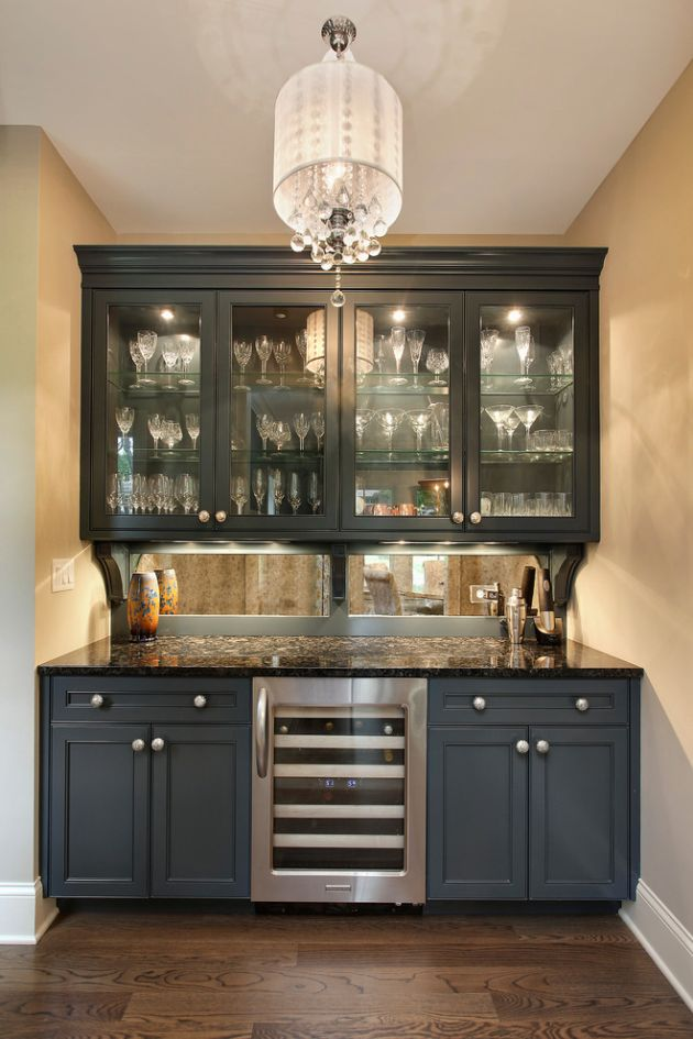 Eclectic Home Bar Ideas By Sterling Wilson Design