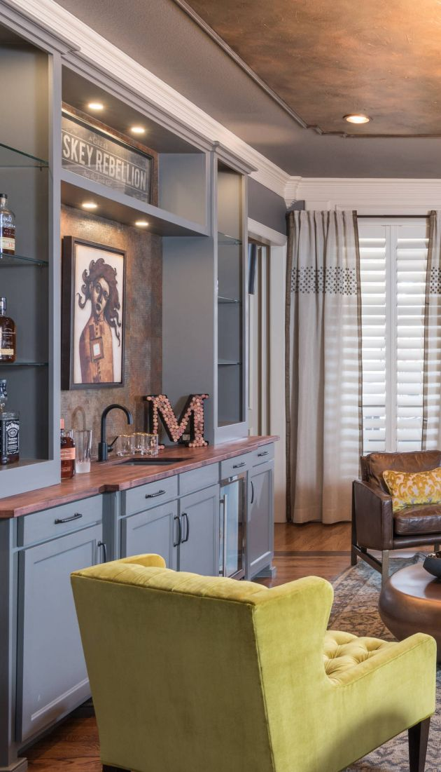 Eclectic Home Bar Ideas From Gallagher Interiors