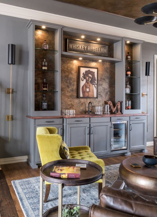 Home Bar Ideas By Gallagher Interiors