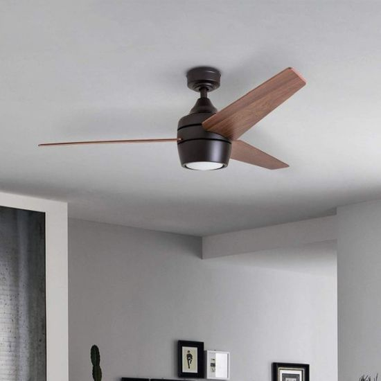 Modern Ceiling Fan With Light And Remote