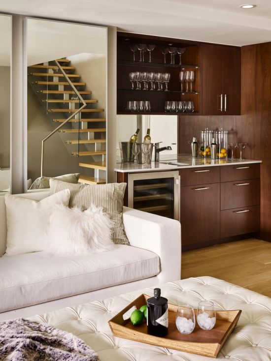 Modern Home Bar Design Ideas By Ronnette Riley Architect