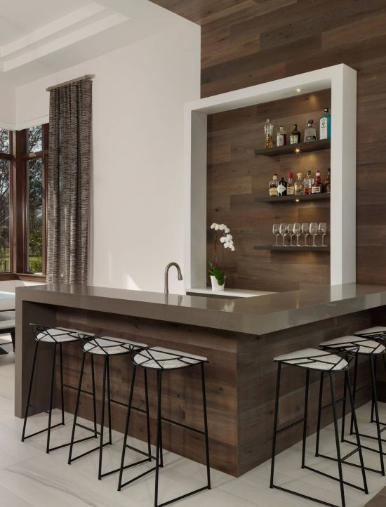 Modern Home Bar Design Ideas From Freestyle Interiors
