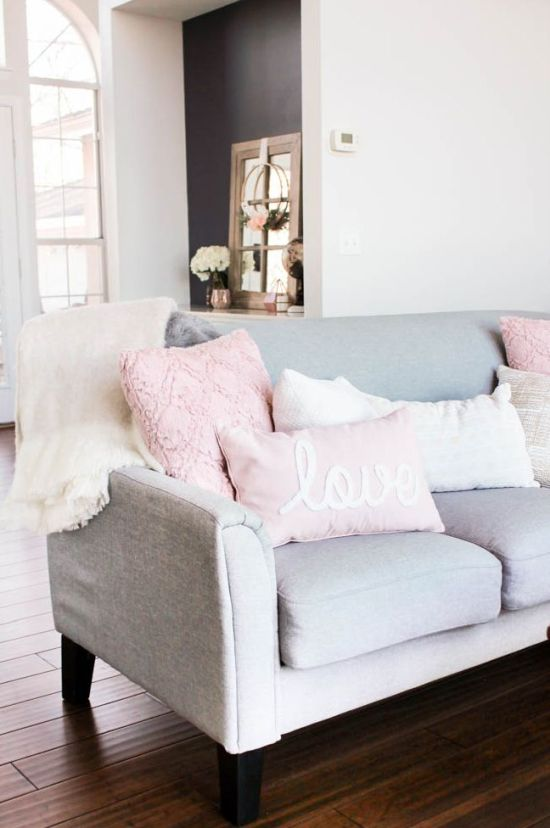 Pretty In Pink Pillows