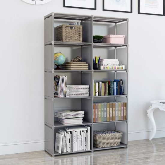 Simple Industrial Bookcase