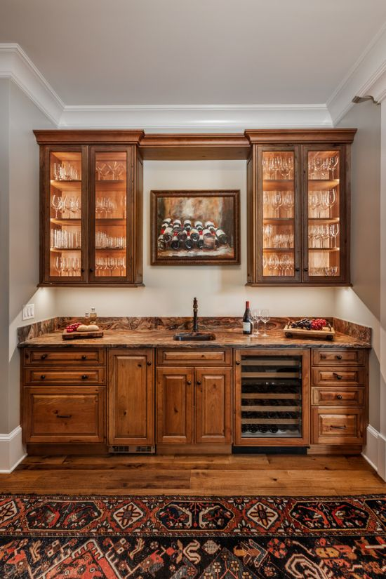 Traditional Home Bar Design Ideas By Atwood Fine Architectural Cabinetry